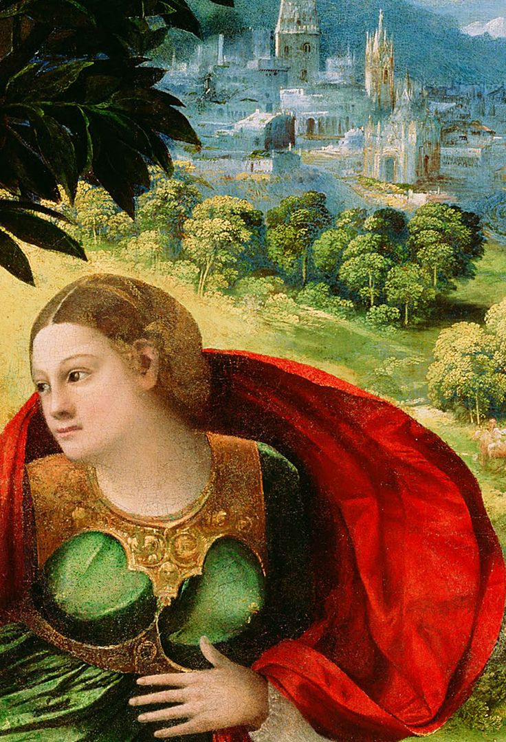 Dosso dossi detail from a mythological scene for La corte dei gonzaga mantegna