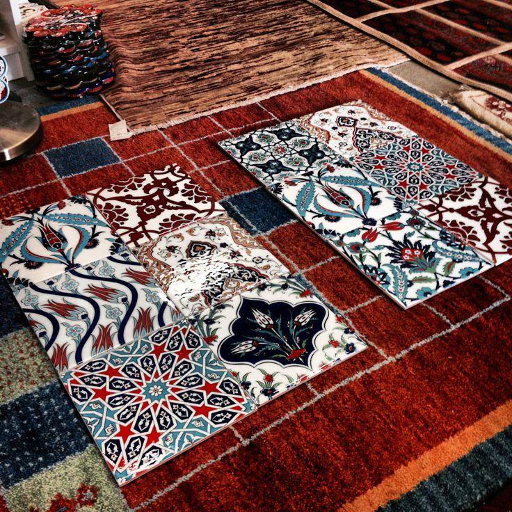 Turkish Tiles for #thetinsniphaoroom loooooove em! #caravans #morocco #jayahaircare