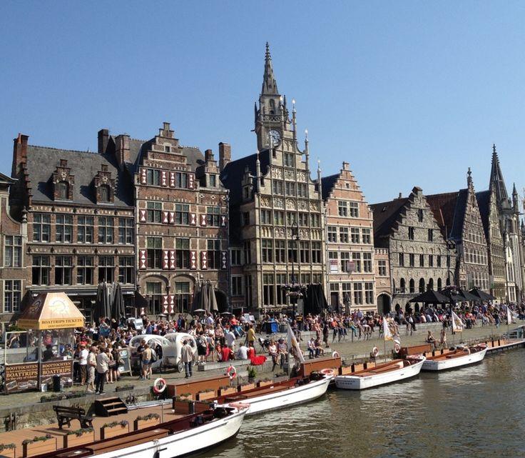 Best Day Trips from Brussels - Ghent, Belgium | MontgomeryFest
