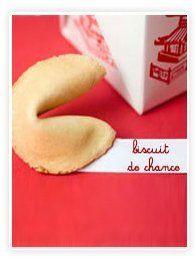 La recette des biscuits de chance (fortune cookies)