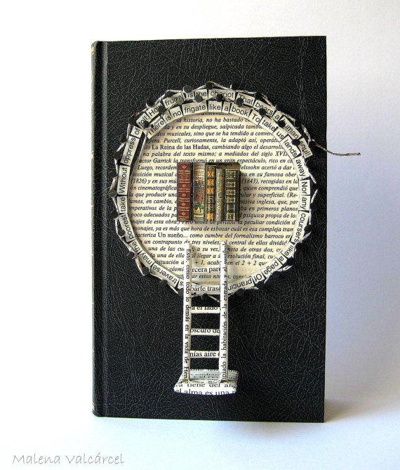 Book Sculpture Paper Art Tree of Happiness от MalenaValcarcel