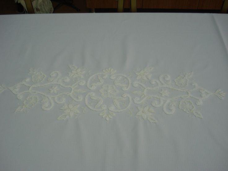 mountmellick nakışı - handmade - embroidery - nakış - el işi