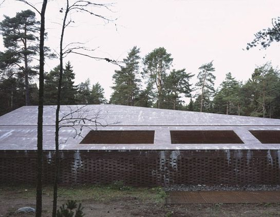 Johan Celsing Arkitektkontor - The New Crematorium, The Woodland Cemetery
