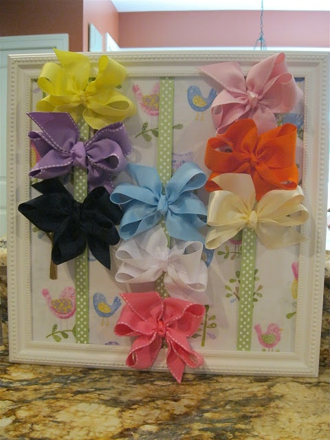 Love this idea for a baby girl gift