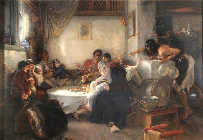 Καρναβάλι στην Αθήνα (1892)