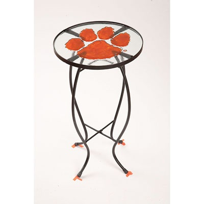 Clemson Tigers Glass Table