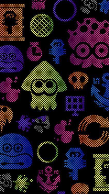 Image result for splatoon wallpaper iphone