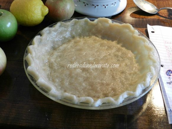 No roll pie crust...takes 10 minutes, and is perfect.
