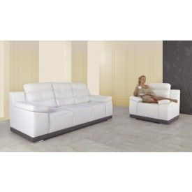 Small Sectional Sofa Palermo Set Armchair And Seater Sofa Bed cornersofabed woodenframe PALERMOSET