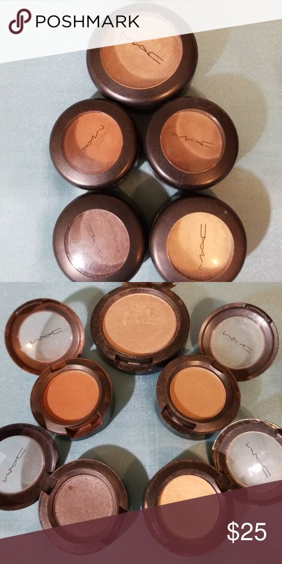 mac eyeshadows pre loved yet still in great condition