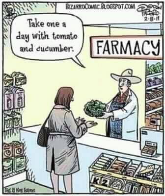 Farmacy! This is wonderful! As TRUE medicine should be!