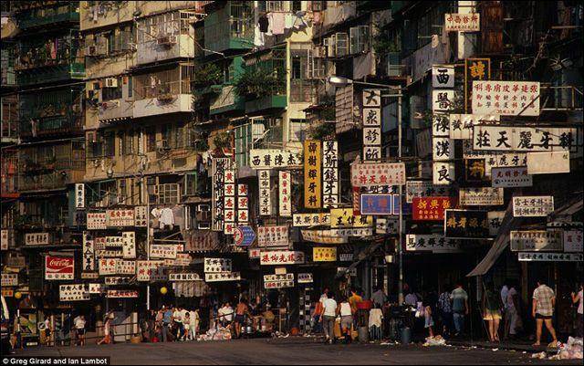 魔窟の象徴、1992年に消えた香港の巨大なスラム街「九龍城砦」の写真16枚 - DNA