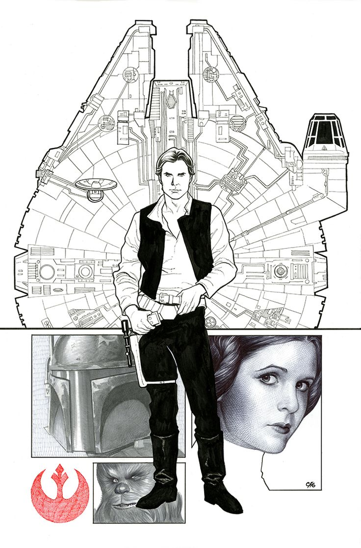 This is the Card, Comics & Collectibles store variant cover for Star Wars #1, drawn by Frank Cho.