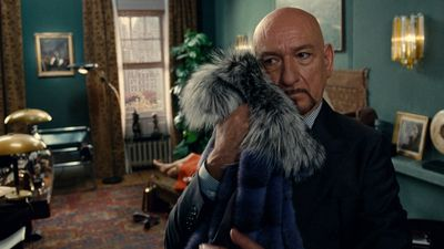 2012/ A Therapy is a short film written and directed by Roman Polanski starring Ben Kingsley and Helena Bonham Carter. A female patient walks into a therapist's office, dressed head to toe in Prada clothes. She lays down on the couch and begins to talk about her problems, completely unaware of the therapist's growing obsession with her fur coat.