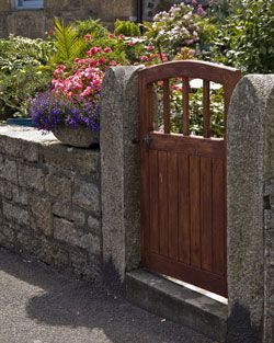 garden fence plans wooden fence gates such as this are sometimes called pedestrian gates - Fence Gate Design Ideas