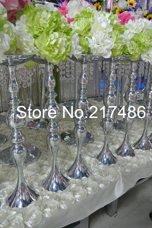 1000 Ideas About Trumpet Vase Centerpiece On Pinterest