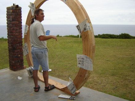 Frame for hobbit door - www.knysnawoodworkers.co.za