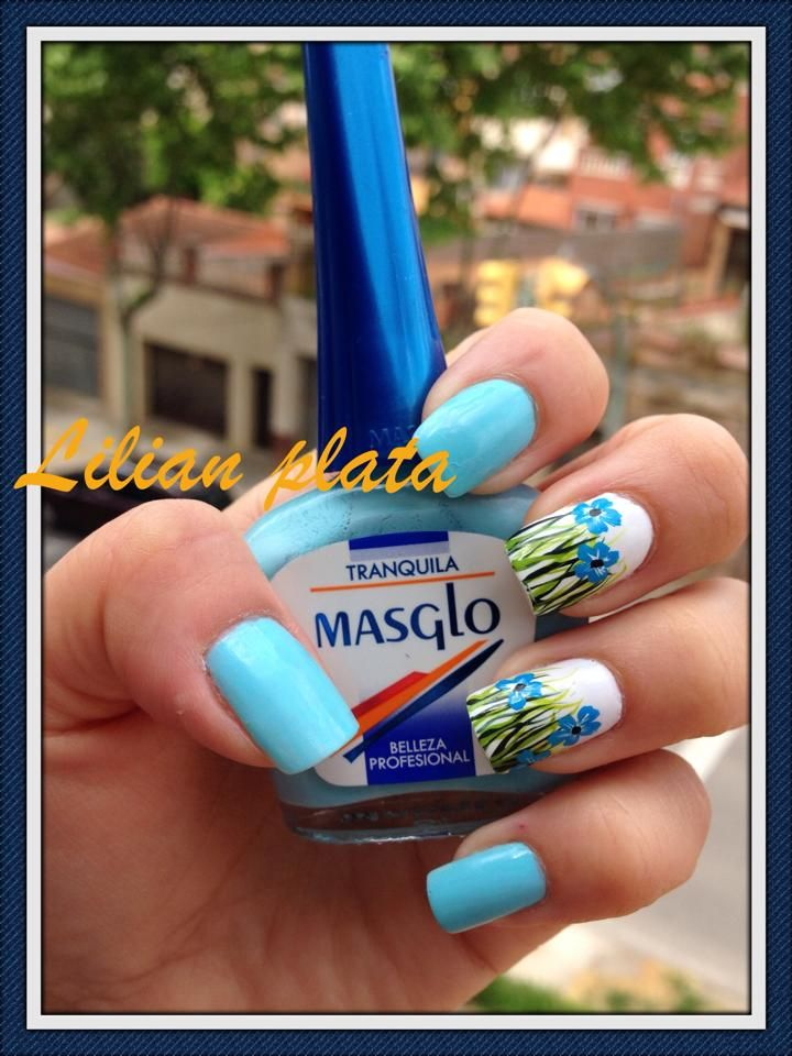 Diseño de Lilian Plata #nails #masglo #inspiration