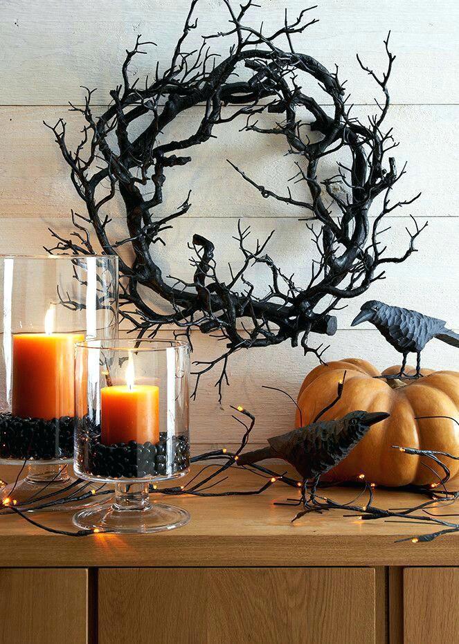 Festa Halloween Idee.Creative Halloween Decorations Wreath Idea Decorating Ideas