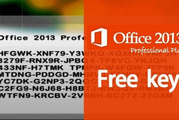 office 2013 serial key
