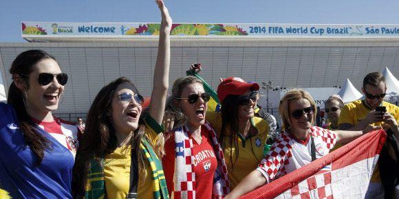 Suporter Elok Piala Dunia 2014: Kroasia