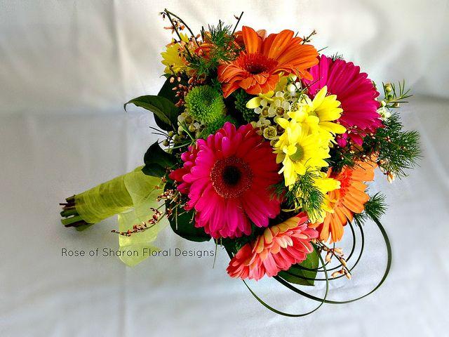 Gerbera daisy bouquet (inspiration)