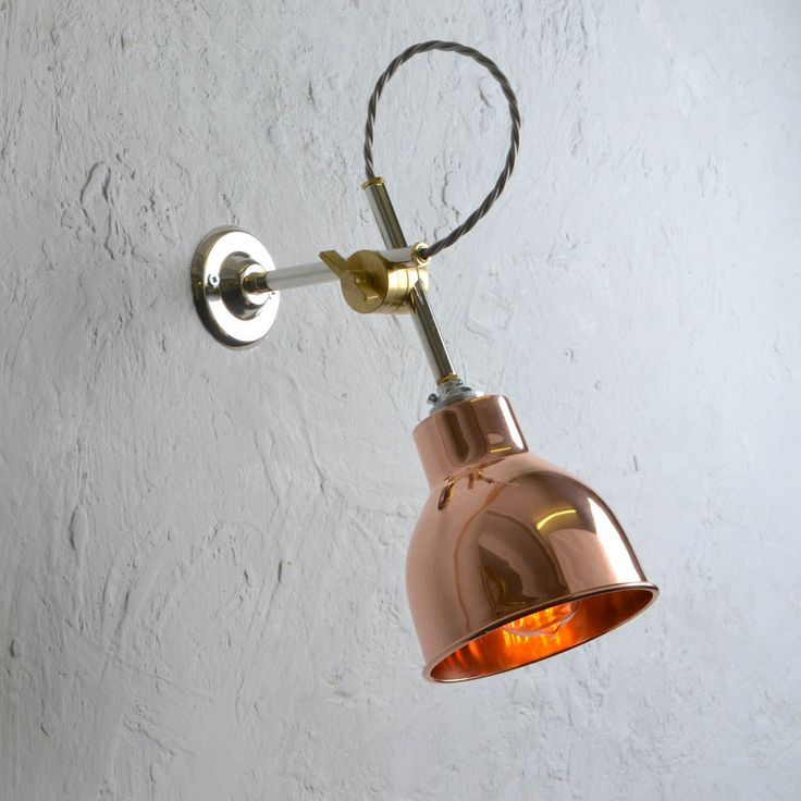 Copper Wall Light. Designed exclusively for Artifact Lighting.