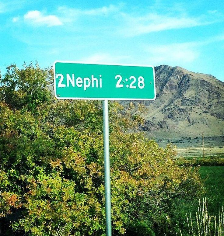 Only in Utah.... Mormon Vandalism