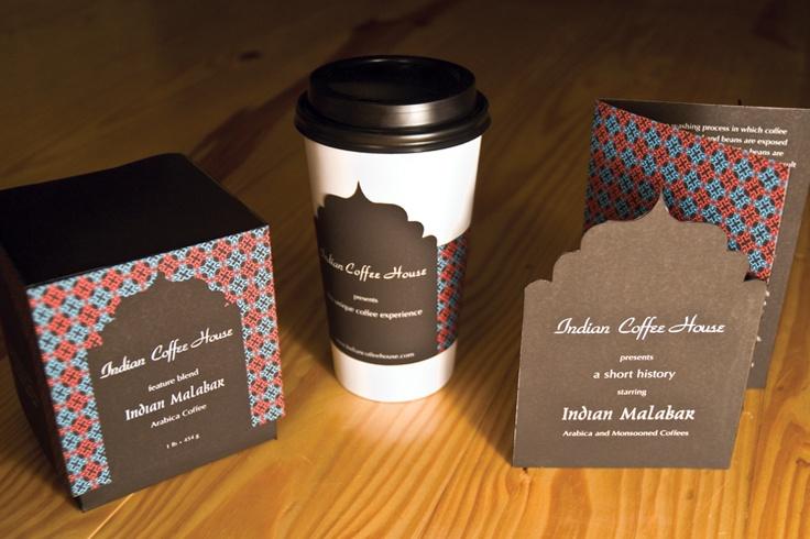 indian coffee packaging