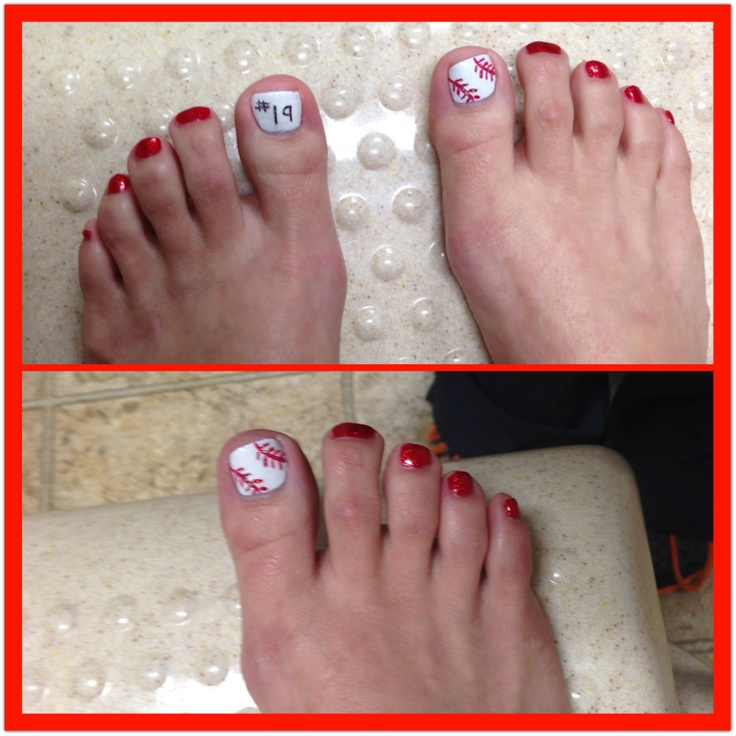 82 best baseball nails images on pinterest baseball nails baseball nail art prinsesfo Images