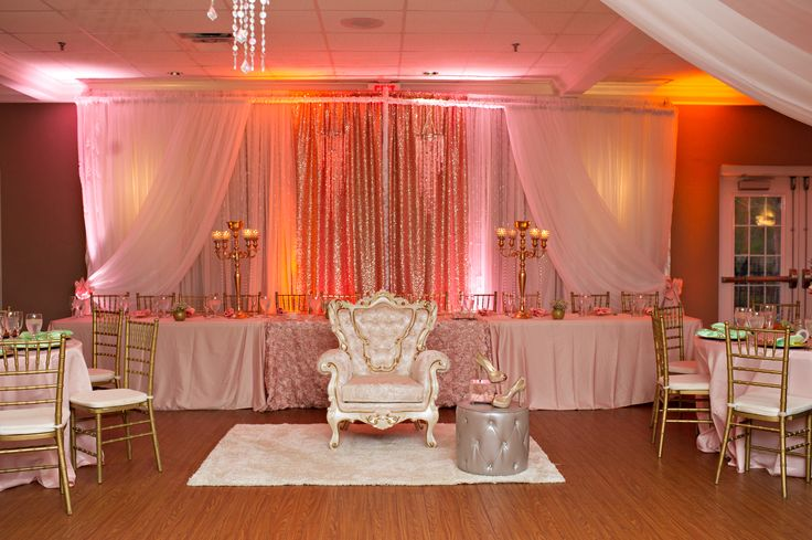 Quince Pictures, Sweet 15 pictures, Quince Pink Decorations, Quince Chair, Quince Court Table, Princess Birthday, Sweet 16,  Captured By Belinda Photography, Secret Lake Park, Orlando Event Photographer, Central Florida Event Photography, Nationwide Event Photographer, www.capturedbybelinda.com
