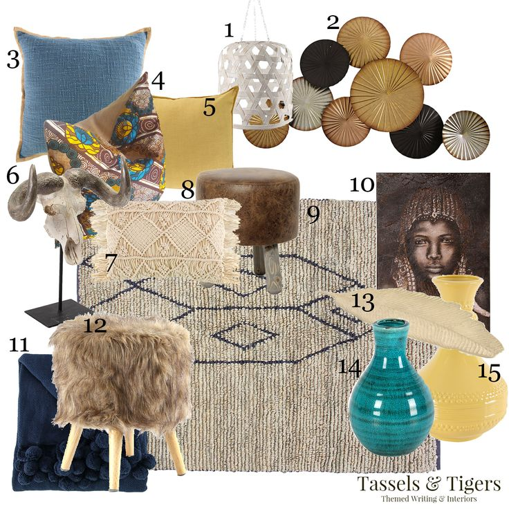 We thought it may be fun to play around with a couple of ideas on which Mr. Price Home decor items you ...