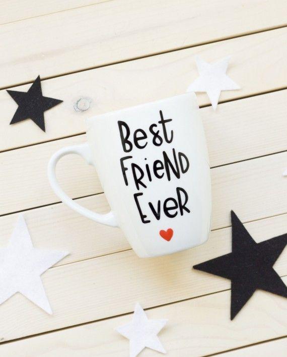 Kubek ręcznie malowany Best Friend Ever