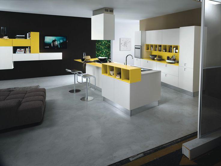 Mobili per cucina cucina quadra b da composit