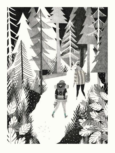 #Illustration by Liekeland