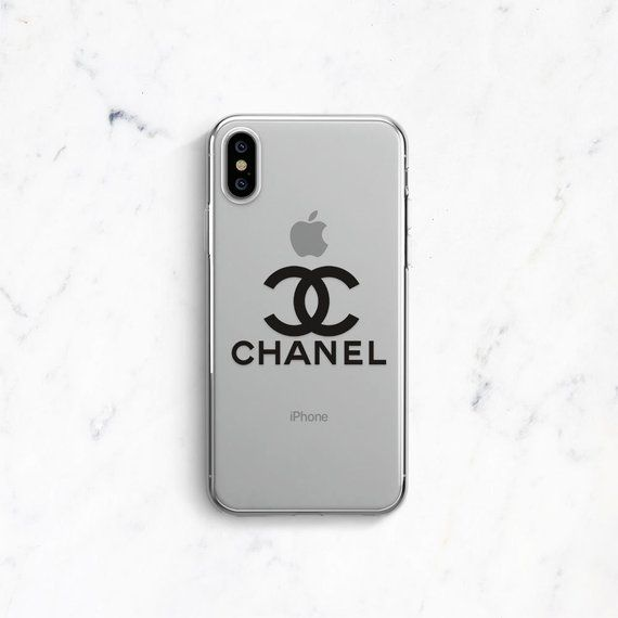 cheap for discount 49732 c5a80 Chanel iPhone XS Max Case iPhone XR Case iPhone X Case Clear iPhone ...