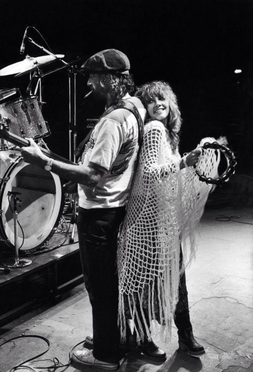 Stevie Nicks.  I have that same exact shawl and I love it :)