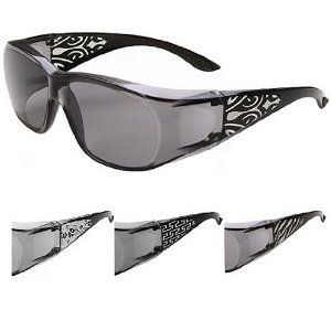 Escort III Stylish Bling -These fit over most prescription eyewear ...