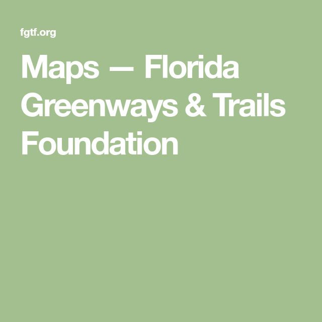 Latest Maps — Florida Greenways & Trails Foundation Inspirational - Contemporary florida handyman license Photos