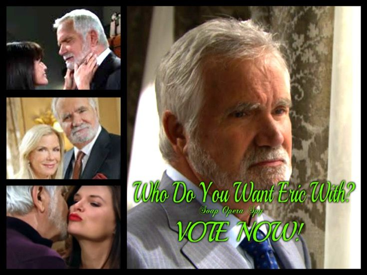 The Bold and the Beautiful's Eric Forrester (John McCook) is currently married to Quinn Fuller Forrester (Rena Sofer), but we all know that she has been sneaky around with his son, engaging in a lip lock with him every chance she gets. So our question to you is who do you want Eric with? Should he b