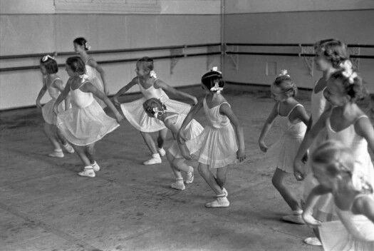1954 Moscow ballet school