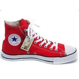 Converse Chucks Schuhe All Star M9621 Farbe: Red Gr. 44.5 - http://on-line-kaufen.de/converse/red-converse-chuck-taylor-all-star-high-season-9