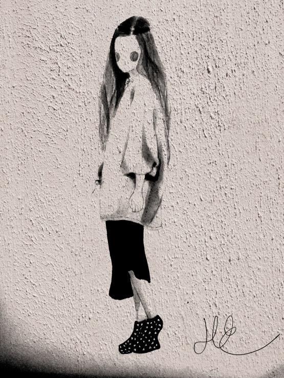 Shade of Fashiion - Ulrikke Lund drawing illustration computer edited #ulrikkelund #art #drawing #girl #fashion #fashiondrawing #sketch #promarkers #fashionillustration #inspiration #wallart #wall