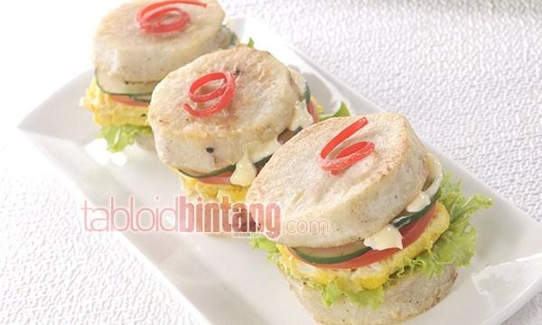 Resep Sandwich Talas Telur Sayuran