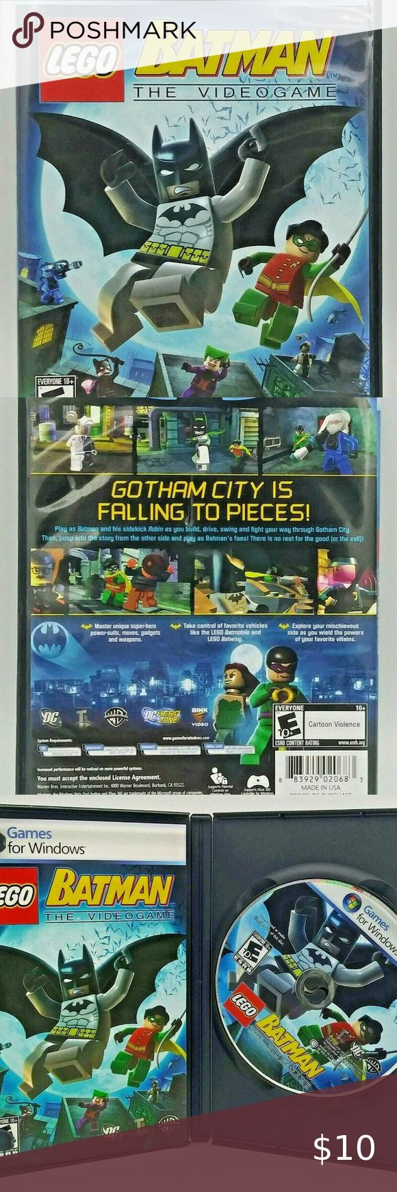 LEGO Batman The Video game for PC in 2020 | Lego batman ...