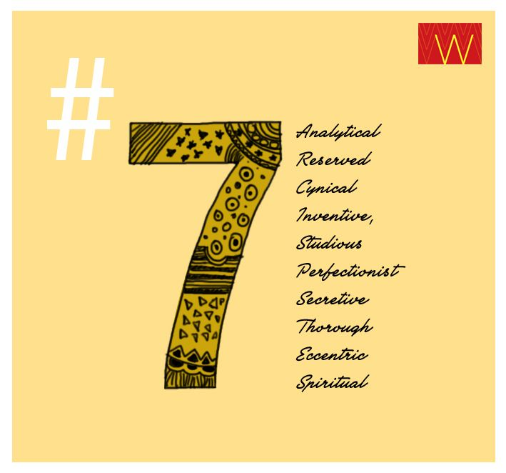 #Numerology  Are you a #7?