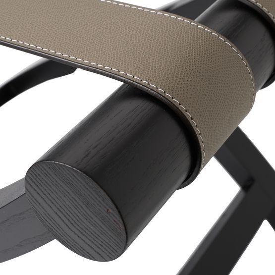 GioBagnara Suite Luggage Rack, Mud | Artedona.com