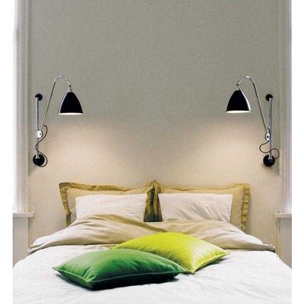 Lámpara de pared Bestlite BL5 de Gubi tiene un diseño icónico a nivel mundial. Fue diseñada por Robert Dudley Best quien fue altamente influenciado por el estilo Bauhaus.