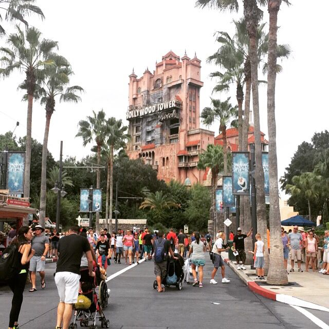 1st time in Disney's hollywood studios