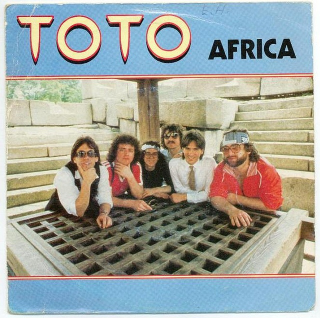 Toto Africa Vinyl Single Toto Africa Vinyl At Discogs